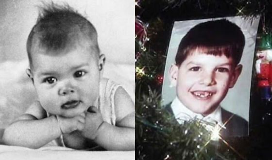 Tom Cruise as a child