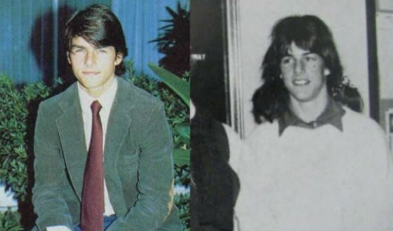 Very young Tom Cruise