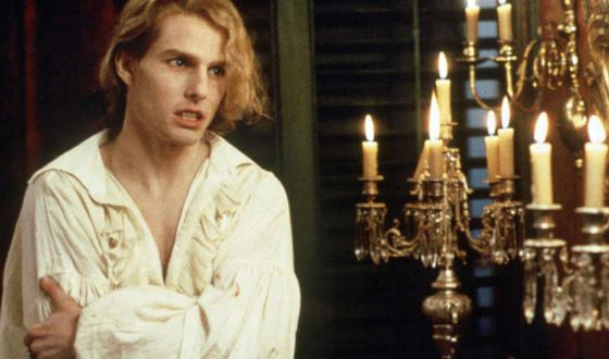 Tom Cruise in the film Interview with the Vampire