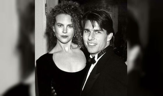 Tom Cruise and Nicole Kidman at the Academy Awards 1991