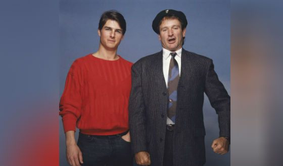 Tom Cruise and Robin Williams