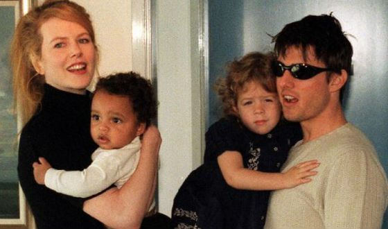 Kidman and Cruise's kids are adopted