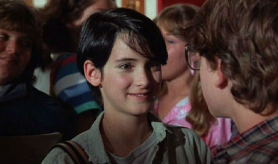 Lucas is the first Winona Ryder's movie