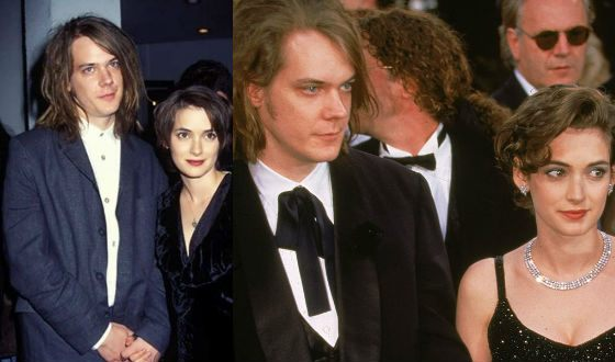 Winona Ryder with Dave Pirner