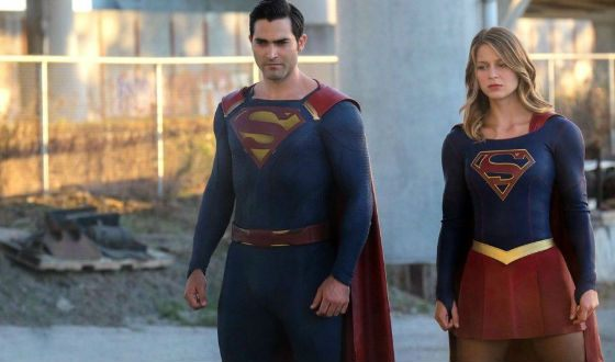 Shot from the TV series Supergirl