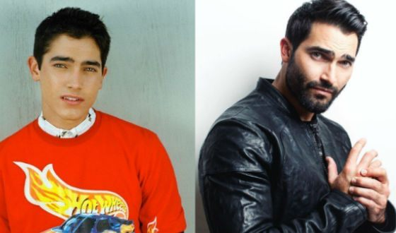 Tyler Hoechlin in his youth and now