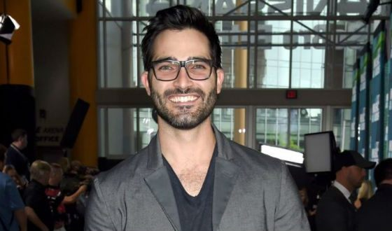 Tyler Hoechlin appeared in the third part of Fifty Shades Freed