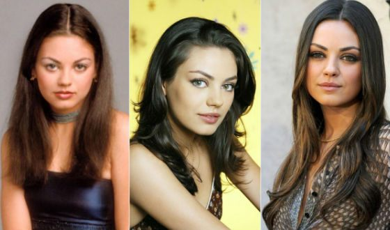 How Mila Kunis changed