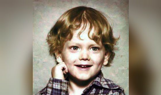 Eminem's photo as a child