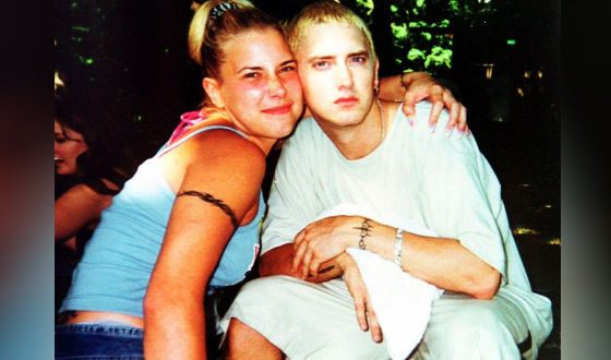 Eminem met his future wife at the age of 15. She was 12