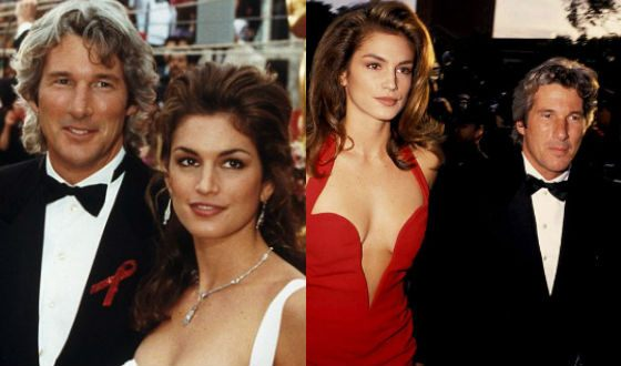 Richard Gere was married to Cindy Crawford
