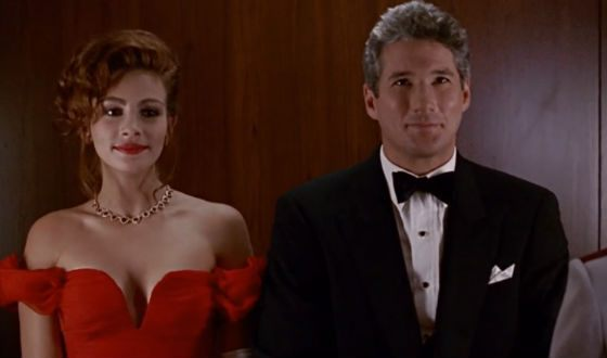A shot from the Pretty Woman