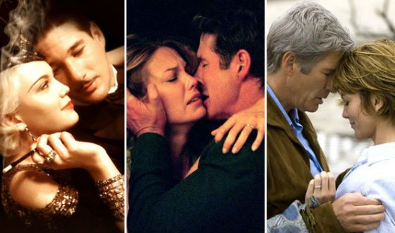 Richard Gere and Diane Lane often shot together
