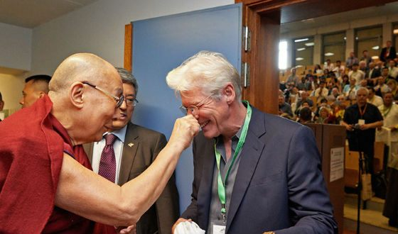 Richard Gere is familiar with the Dalai Lama