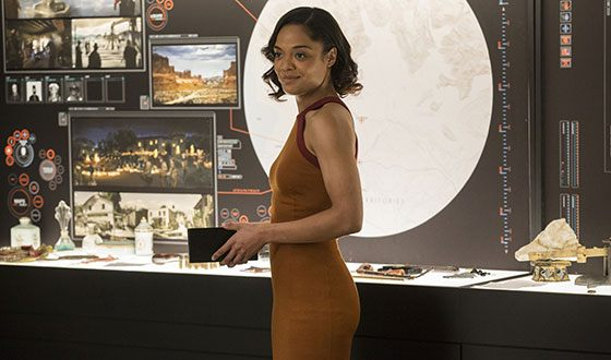 Tessa Thompson has a beautiful figure