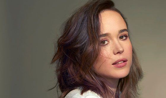 Canadian actress Ellen Page