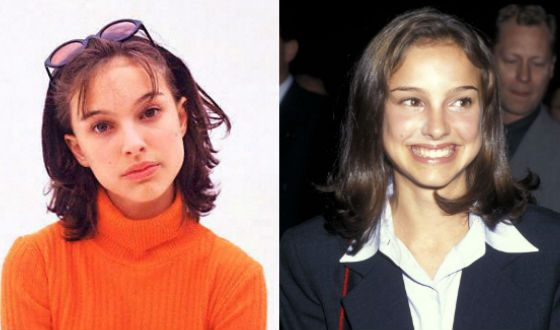 1995: gifted schoolgirl and a very promising actress