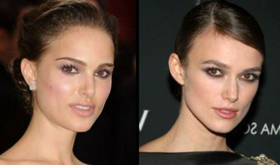 Natalie Portman and Keira Knightley look very much alike