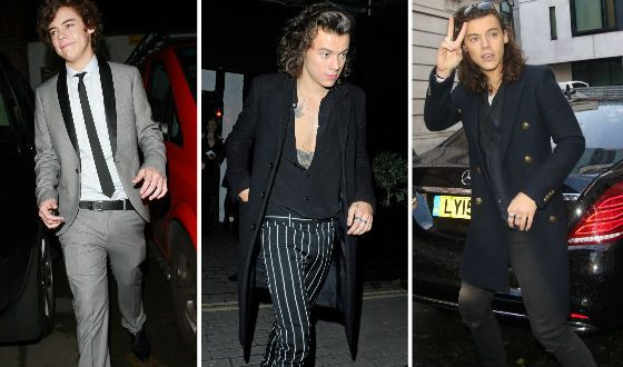 Harry Styles' evolution
