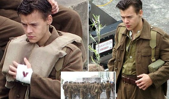 Before «Dunkirk» filming, Harry Styles cut off his hair