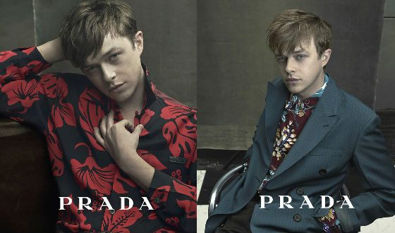 Interesting fact: Dane DeHaan was the face of PRADA
