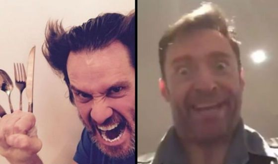 Jim Carrey and Hugh Jackman make fun of each other