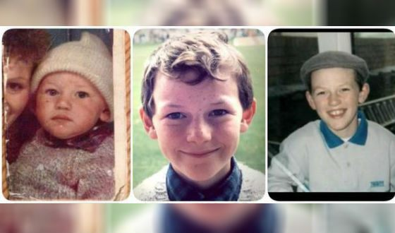 Luke Evans' childhood was spent in the city of Pontipool