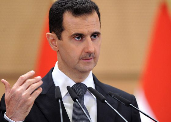 Syrian politician Bashar Al-Assad