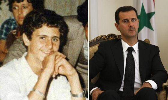 Bashar Al-Assad in his youth