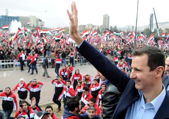 The rule of Bashar Al-Assad caused popular unrest