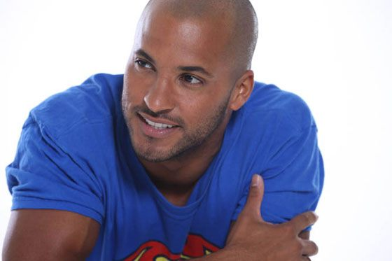Actor Ricky Whittle