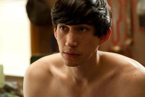 Young Adam Driver in the TV series Girls