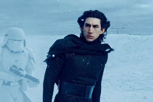 Adam Driver as Kylo Ren in The Star Wars