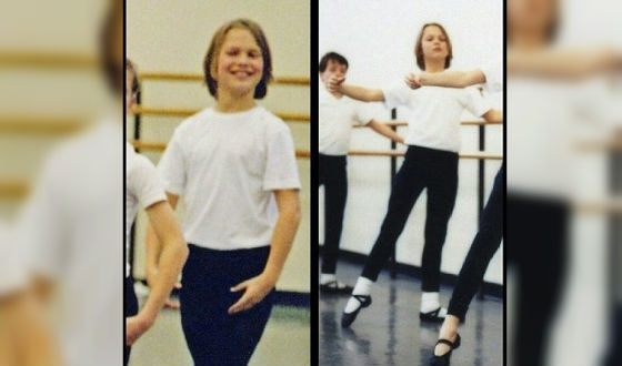 As a child, Ansel went to the ballet school, although he hate dancing