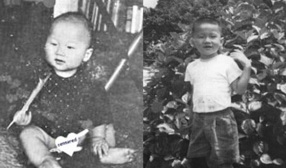 Jackie Chan as a kid