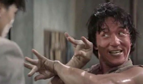 Jackie Chan in «Drunken Master» movie
