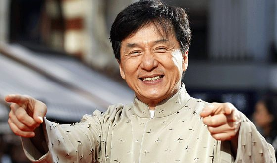 There are more than 100 lines in Jackie Chan's filmography
