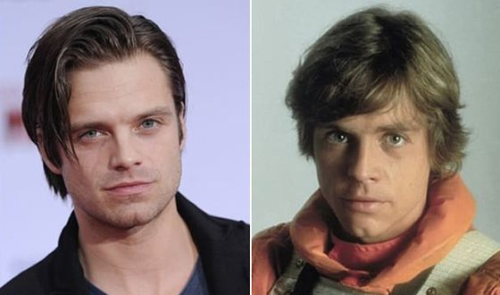 Many fans believe that Sebastian Stan and Mark Hamill look alike