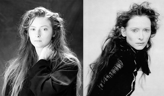 Young Tilda Swinton