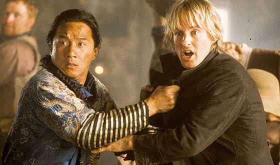 Owen Wilson and Jackie Chan in Shanghai Noon