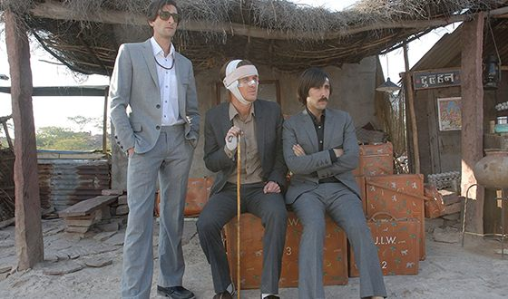 A still from The Darjeeling Limited