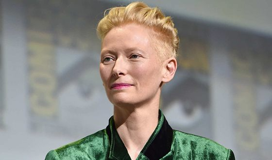 In the photo: Tilda Swinton