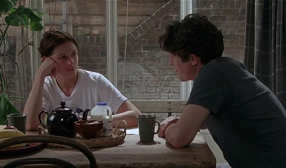Hugh Grant and Julia Roberts in the Notting Hill
