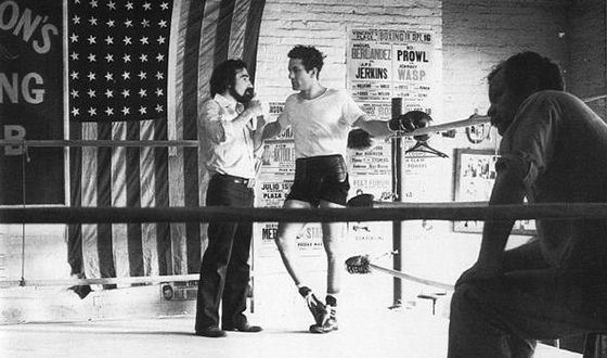 On the Set of Raging Bull