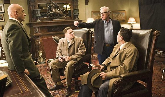 On the Set of the Thriller Shutter Island