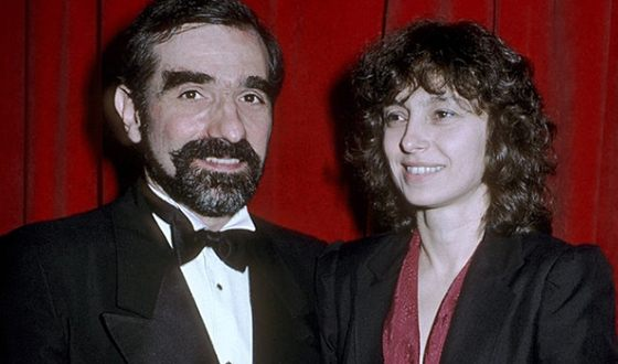 Martin Scorsese and Barbara De Fina