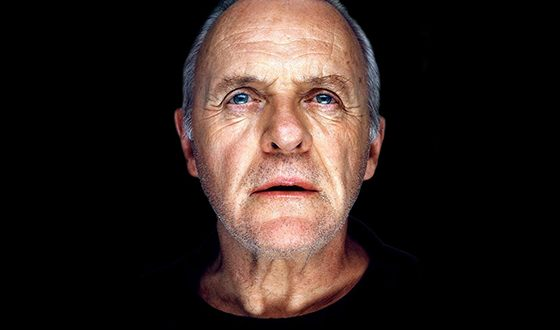 in the photo: Anthony Hopkins