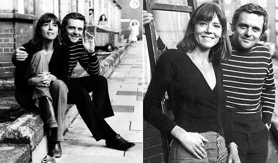 Anthony Hopkins and his first wife Petronella Barker