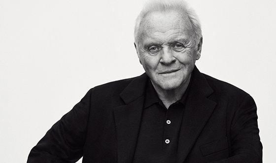 Sir Anthony Hopkins - a genius actor, despite the age, goes on shooting