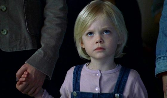 Elle Fanning made her acting debut when she was only three